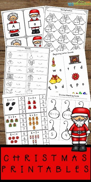 Christmas Worksheets for Preschoolers Inspirational Free Christmas Worksheets