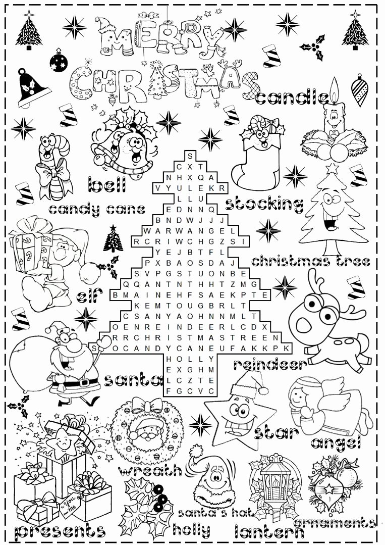 Christmas Worksheets for Preschoolers Lovely English Esl Christmas Worksheets Most Ed 996 Results