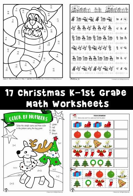 Christmas Worksheets for Preschoolers Printables Best Of Free Printable Christmas Math Worksheets Pre K 1st Grade