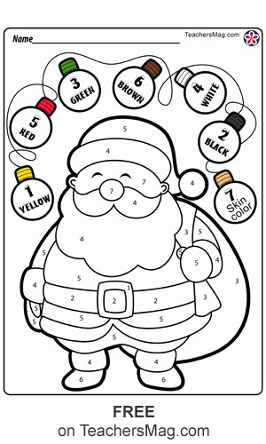 Christmas Worksheets for Preschoolers Printables Fresh Christmas Worksheets for Preschool Teachersmag