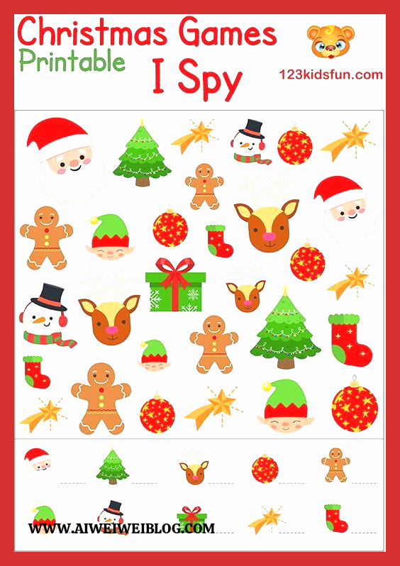 Christmas Worksheets Ideas for Kids Beautiful Free Christmas Printable 123 Kids Fun Apps