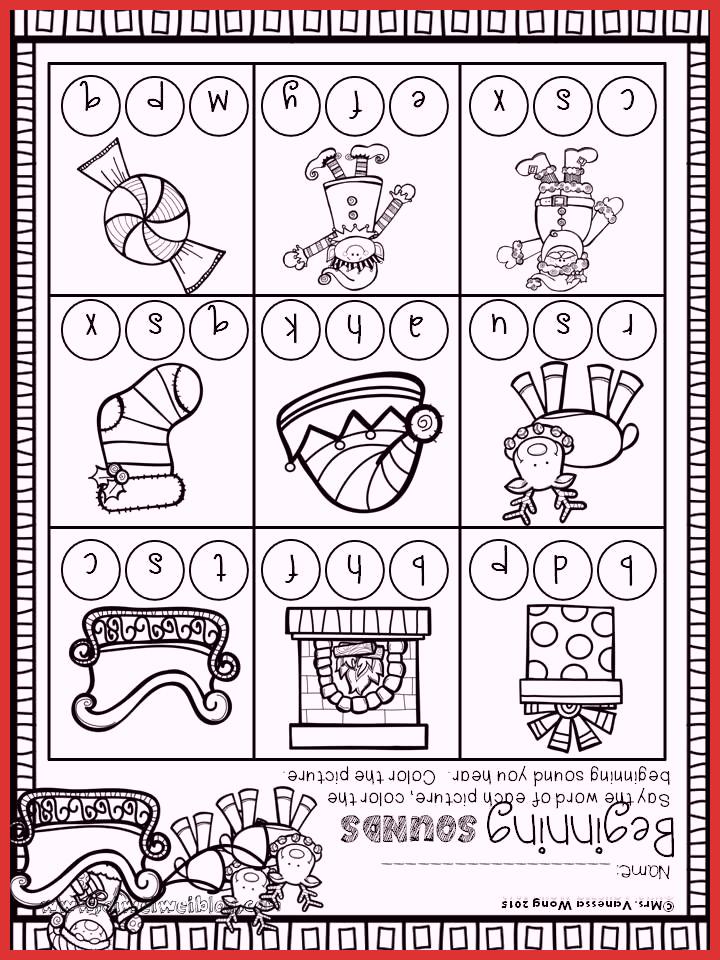 Christmas Worksheets Ideas For Preschoolers Printable Worksheets For Kids
