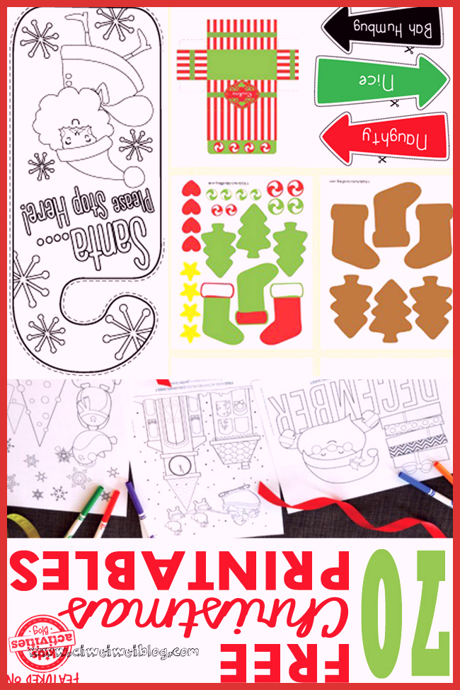 Christmas Worksheets Ideas for Preschoolers Lovely 70 Free Christmas Printables Coloring Pages Worksheets