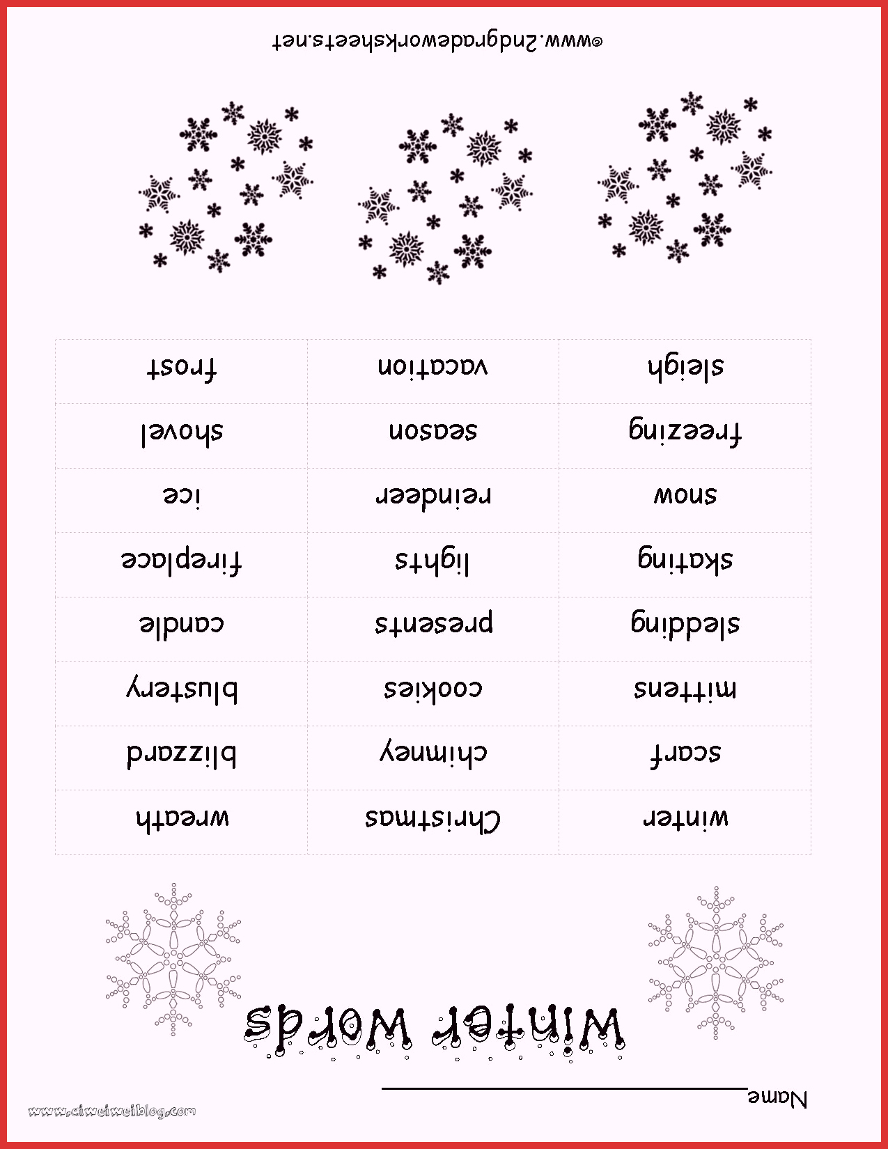 Christmas Worksheets Ideas for Preschoolers Unique Christmas Worksheets and Printouts Free Winterwordlist