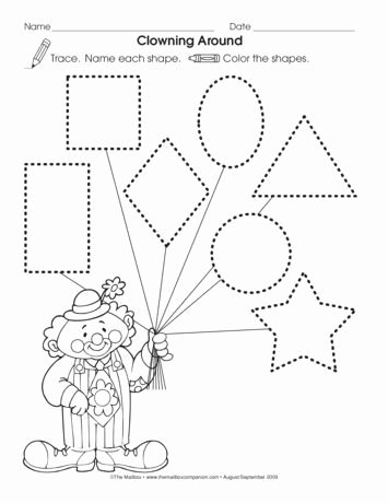 Circus Worksheets for Preschoolers Awesome Clowning Around Lesson Plans Circus theme Pinterest