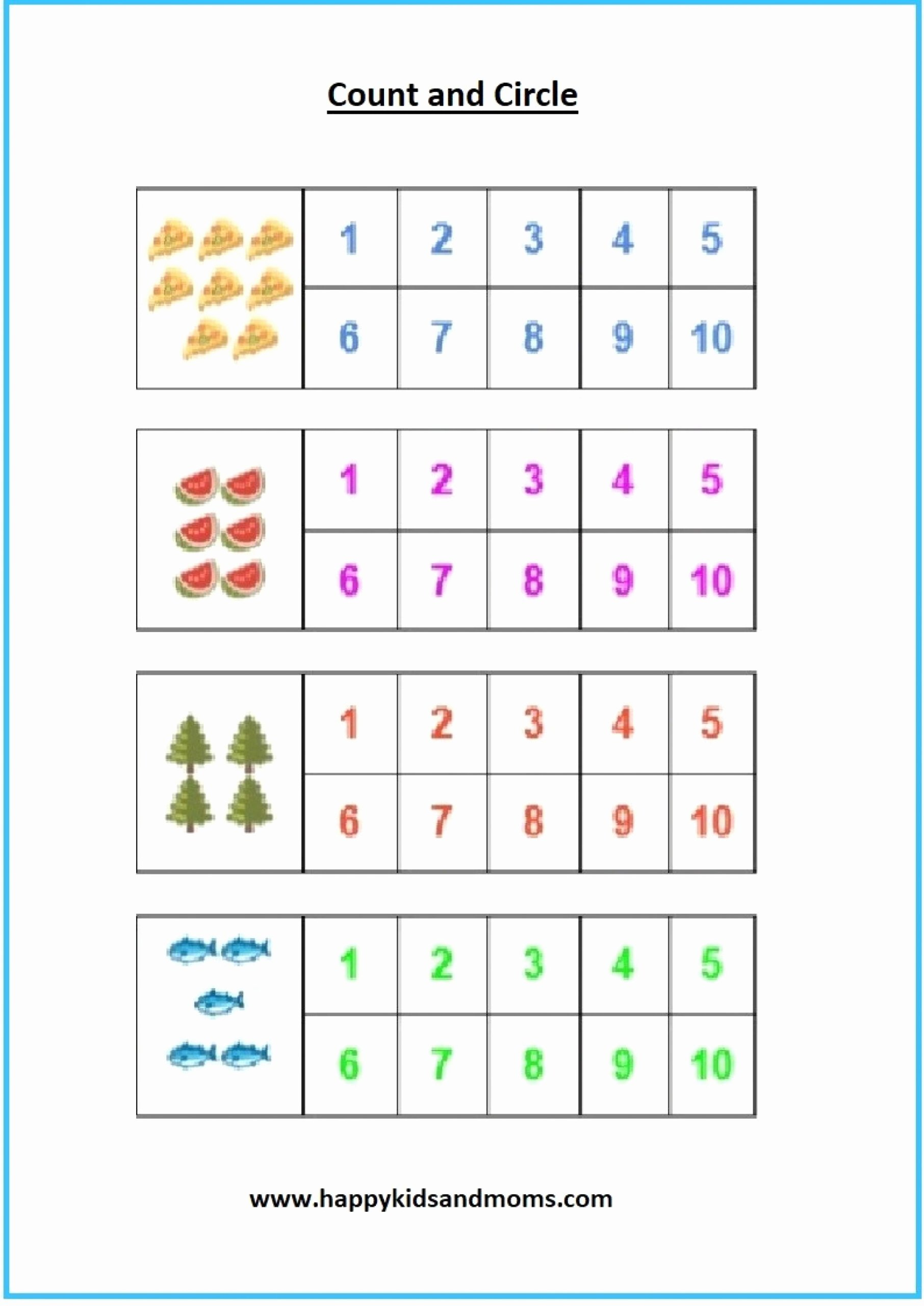 Circus Worksheets for Preschoolers New Worksheets Worksheetsgarten Math Pdf Worksheet Free