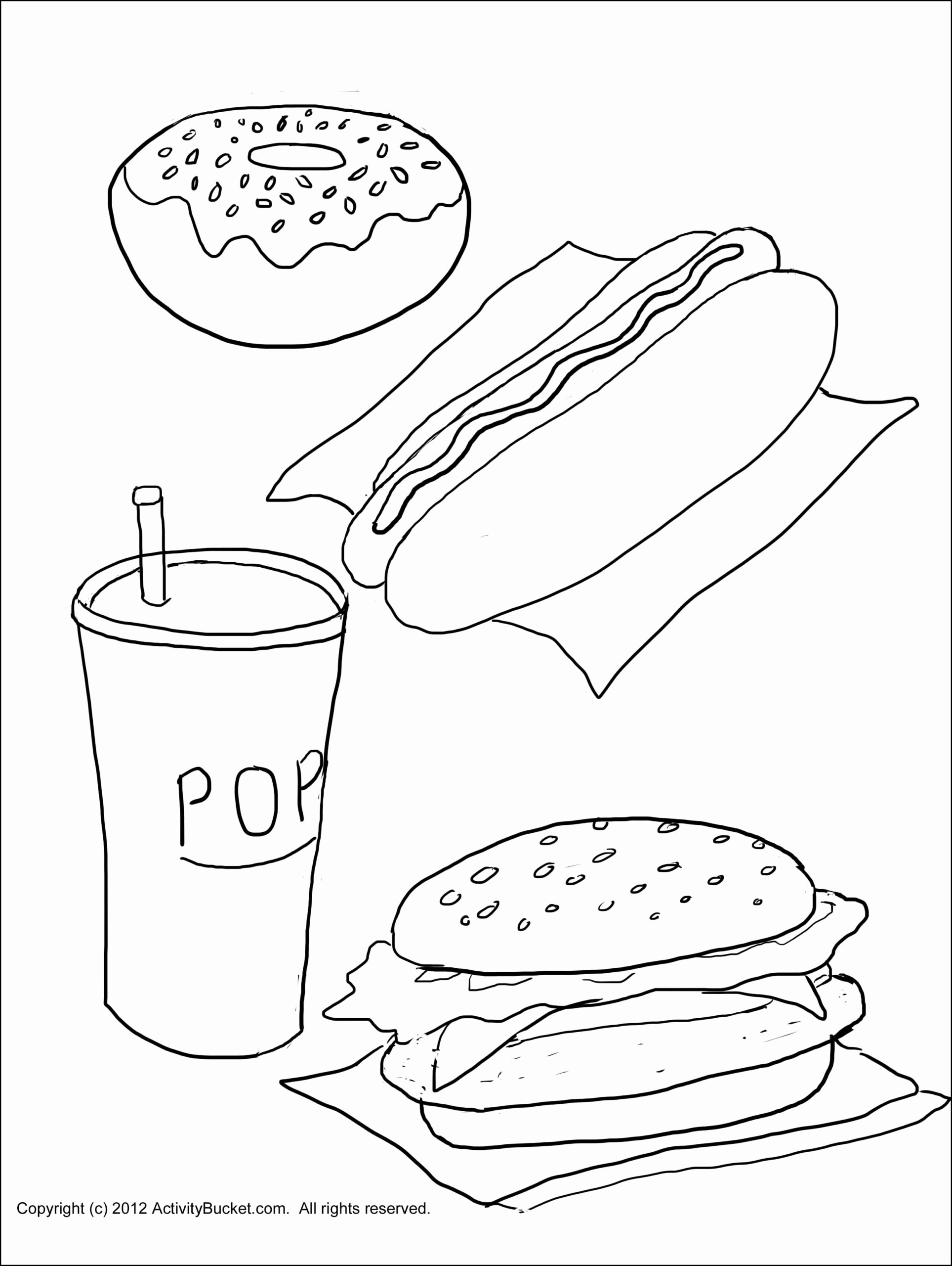 Cognitive Worksheets for Preschoolers Inspirational Healthy and Unhealthy Food Worksheet for Preschool Printable