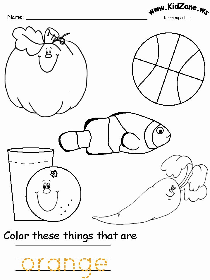 Color Recognition Worksheets for Preschoolers Inspirational Learning Colors Worksheets for Preschoolers