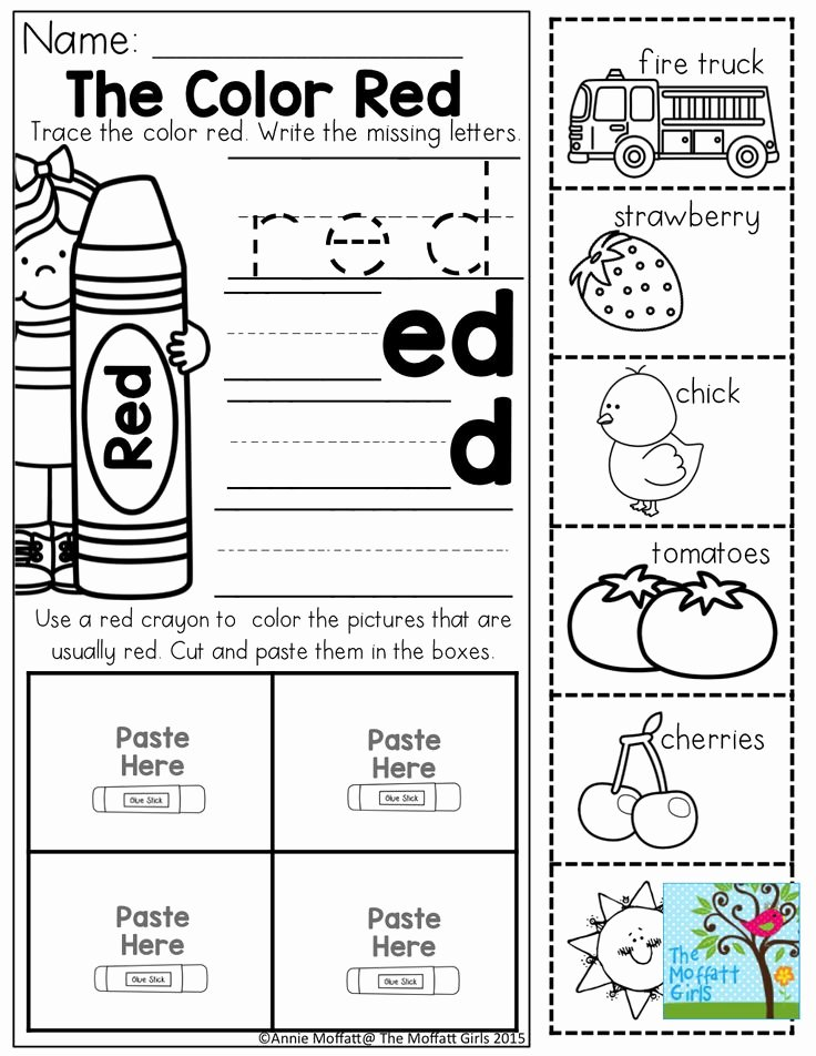 Color Red Worksheets for Preschoolers Fresh Coloring Pages Yellow Color Activities forn Worksheets Fun