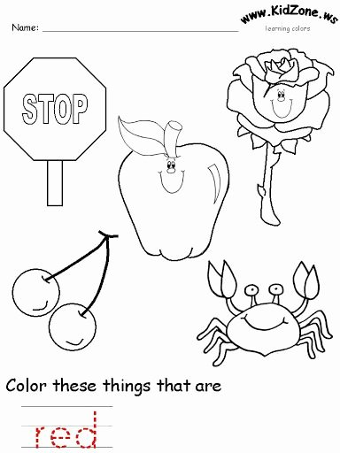 Color Red Worksheets for Preschoolers top Learning Colors Kidszone Annacaro todo Inglés Picasa Web
