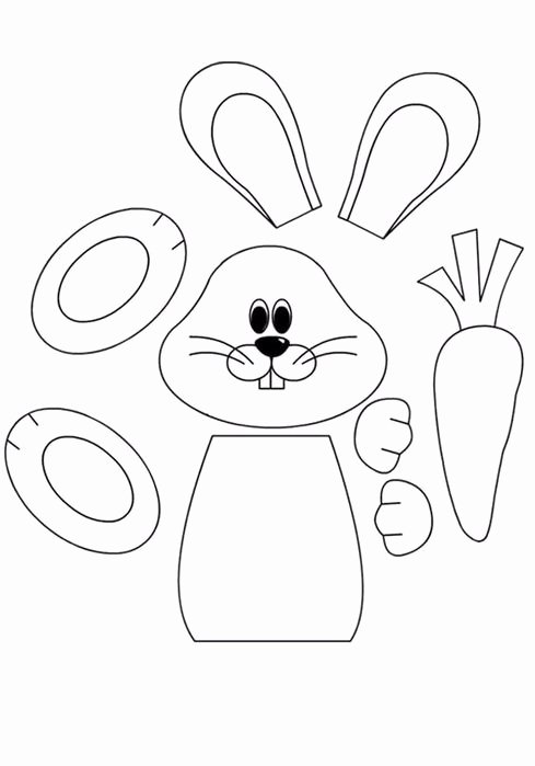 Coloring Activity Worksheets for Preschoolers Inspirational Easter Preschool Worksheets Best Coloring for Kids Bunny Cut