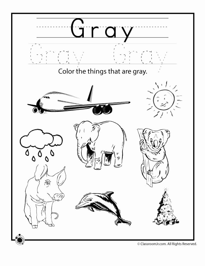 Colour Worksheets for Preschoolers New Learning Colors Worksheets for Preschoolers