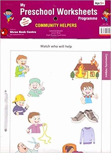 Community Helpers Worksheets for Preschoolers Fresh Buy My Preschool Worksheets Programme Munity Helpers Book