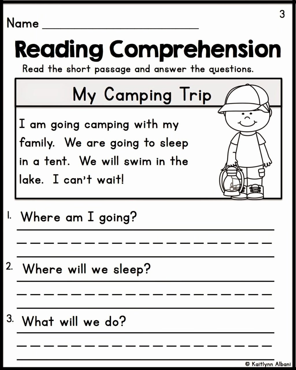 Comprehension Worksheets for Preschoolers Lovely Worksheet Worksheet Free Printablerst Grade Reading