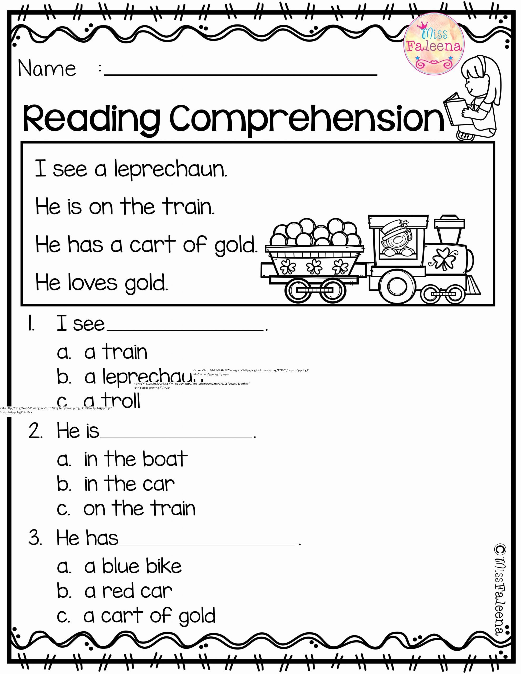 Comprehension Worksheets for Preschoolers Unique March Reading Prehension is Suitable for Kindergarten