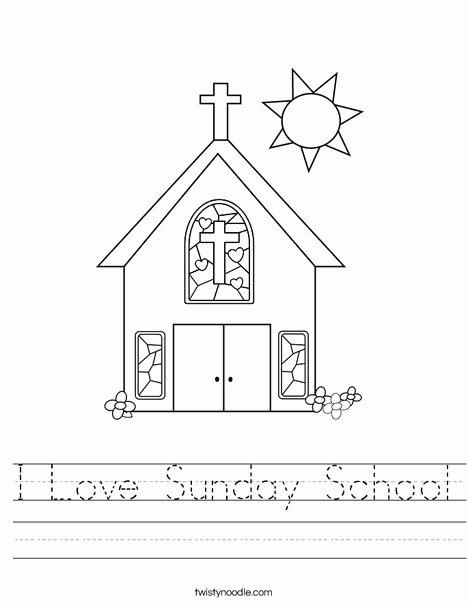 Cone Worksheets for Preschoolers New Sunday School Worksheet Twisty Noodle Printable Worksheets