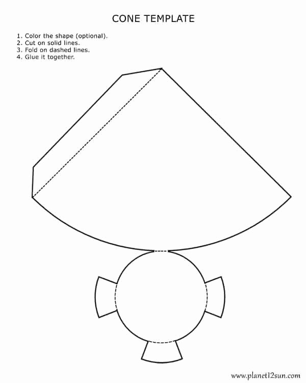 Cone Worksheets for Preschoolers top Free Printables for Kids
