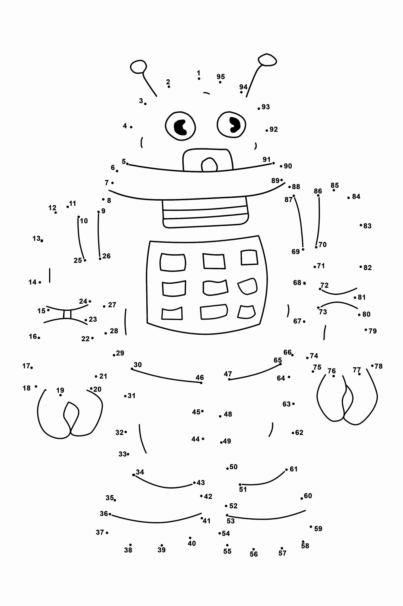 Connecting Dots Worksheets for Preschoolers Best Of Dot to Dots Worksheets for Kindergarten