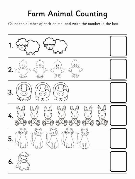 Counting Worksheets for Preschoolers Inspirational Printable Worksheets