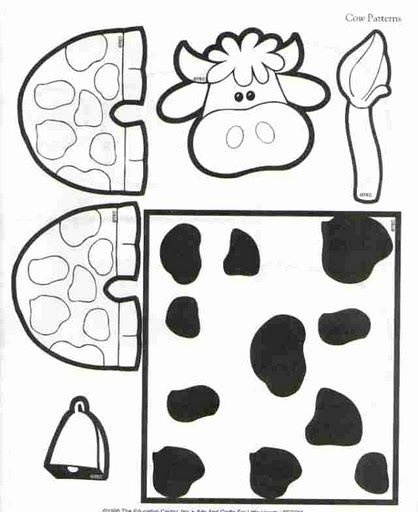 Cow Worksheets for Preschoolers New Crafts Actvities and Worksheets for Preschool toddler and
