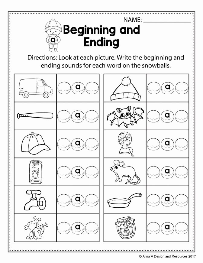 Creative Worksheets for Preschoolers Beautiful Free Winter Literacy Worksheet for Kindergarten No Prep