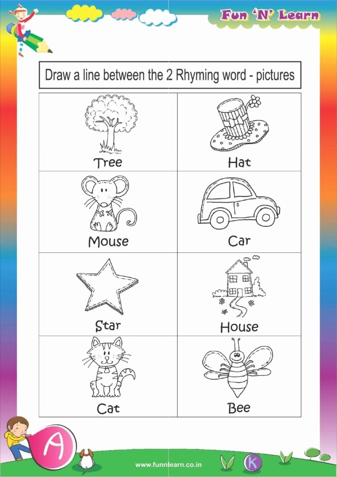 Creative Worksheets for Preschoolers Best Of Fun Learn Worksheets Grade Hkg Sr Kg Months Bundled Creative