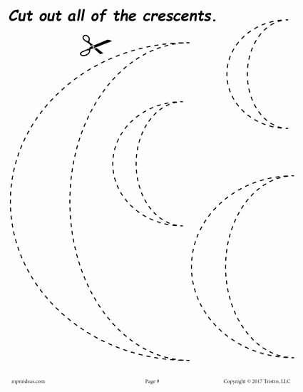 Crescent Shape Worksheets for Preschoolers Awesome Pin On Shapes Worksheets Coloring Pages & Activities