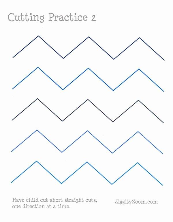 Cutting Practice Worksheets for Preschoolers Awesome Cutting Practice Worksheet 2