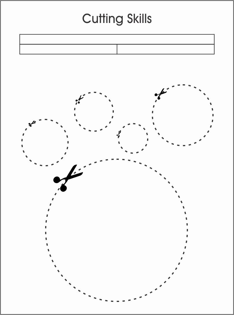 Cutting Shapes Worksheets for Preschoolers Awesome 7 Best Of Cutting Shapes Printables Kindergarten