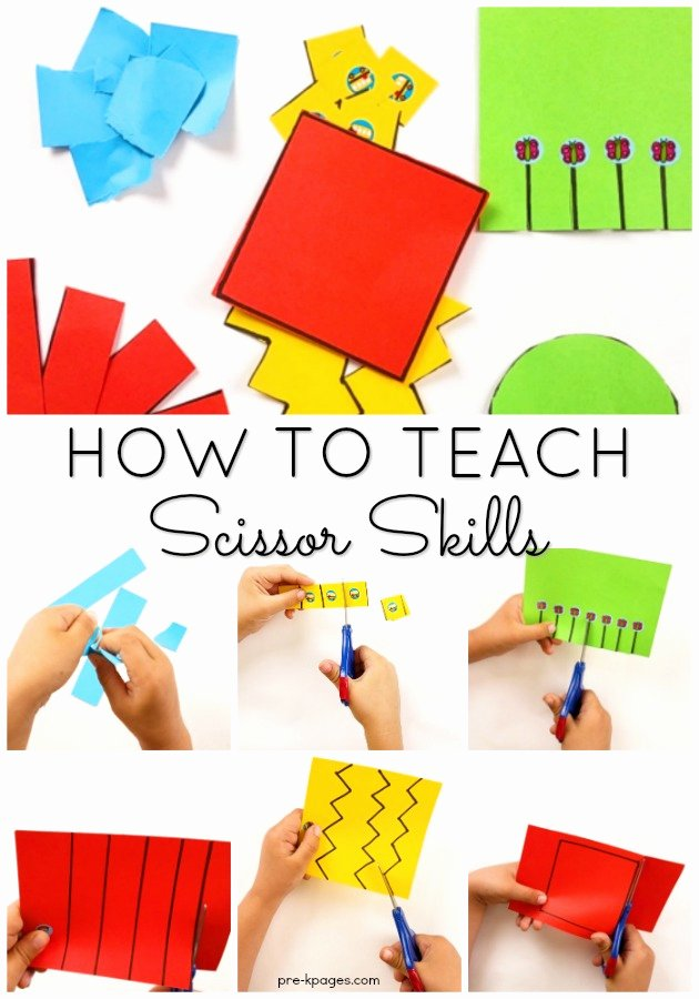 Cutting Skills Worksheets for Preschoolers Lovely How to Teach Kids to Cut with Scissors In Preschool