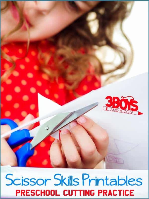 Cutting Skills Worksheets for Preschoolers Unique Printable Cutting Worksheets for Preschoolers – 3 Boys and A Dog
