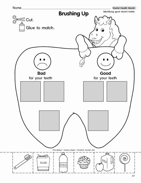 Dental Worksheets for Preschoolers Awesome Ultimate List Of Dental Health for the Classroom