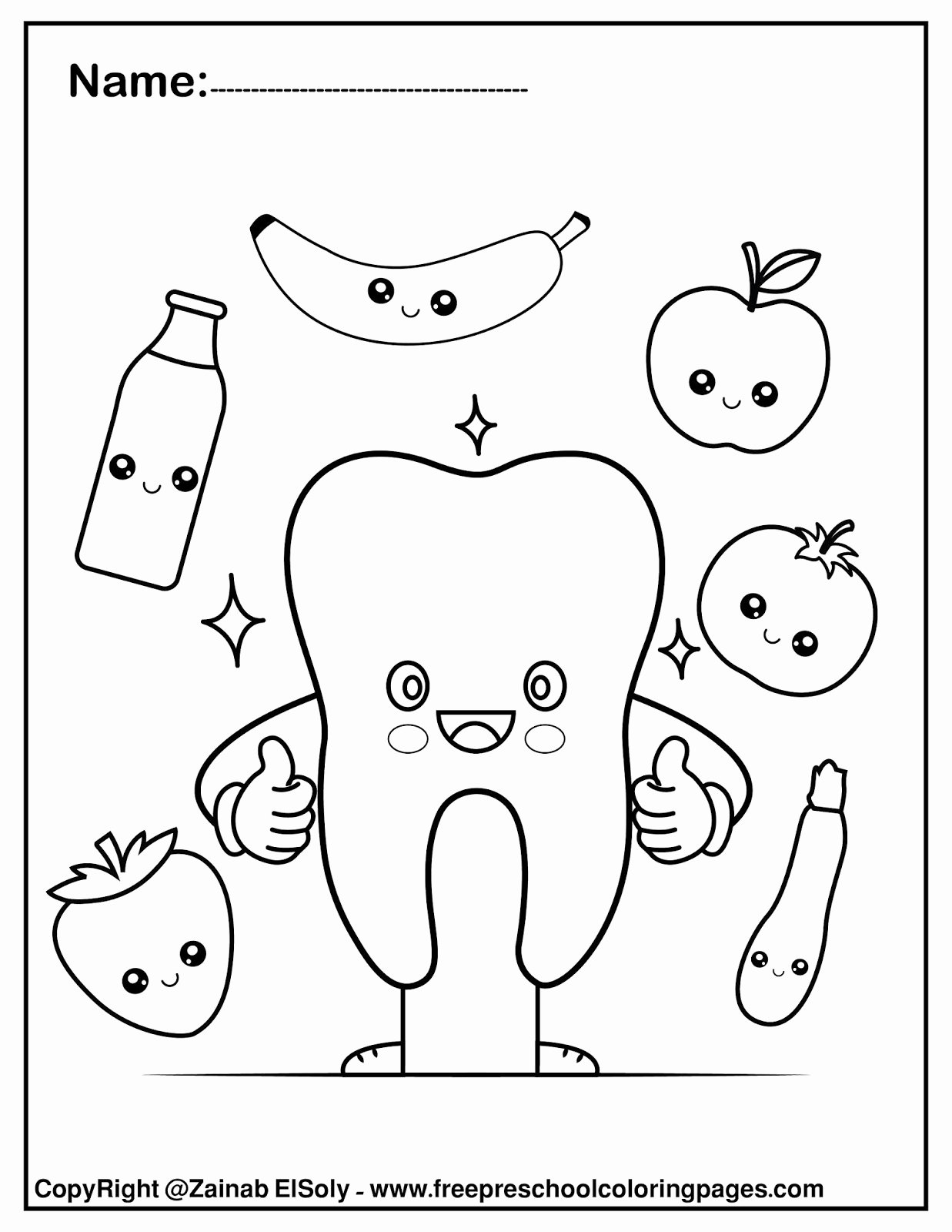 Dental Worksheets for Preschoolers Best Of Dental Coloring for Preschool Hygiene Worksheets Set Free
