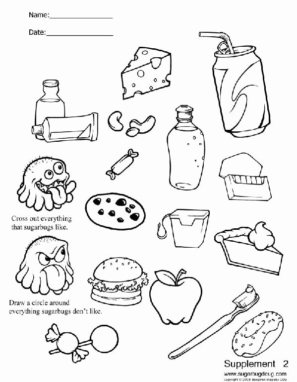 Dental Worksheets for Preschoolers Inspirational Printable Dental Worksheets
