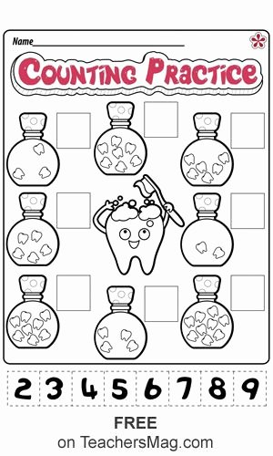 Dental Worksheets for Preschoolers New Dental Health Worksheets for Preschool and Kindergarten