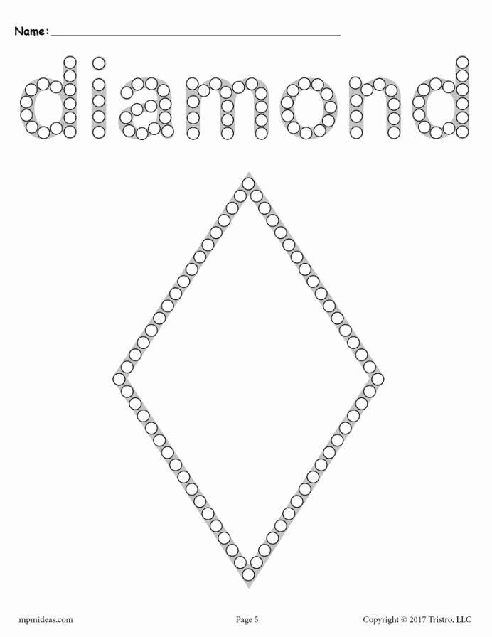 Diamond Worksheets for Preschoolers Beautiful Kumon Program Diamond Worksheets for Preschoolers
