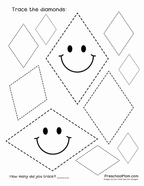 Diamond Worksheets for Preschoolers New Kumon Program Diamond Worksheets for Preschoolers