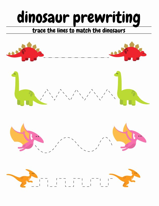 Dinosaur Worksheets for Preschoolers top Free Dinosaur Preschool Worksheets – the B Keeps Us Honest