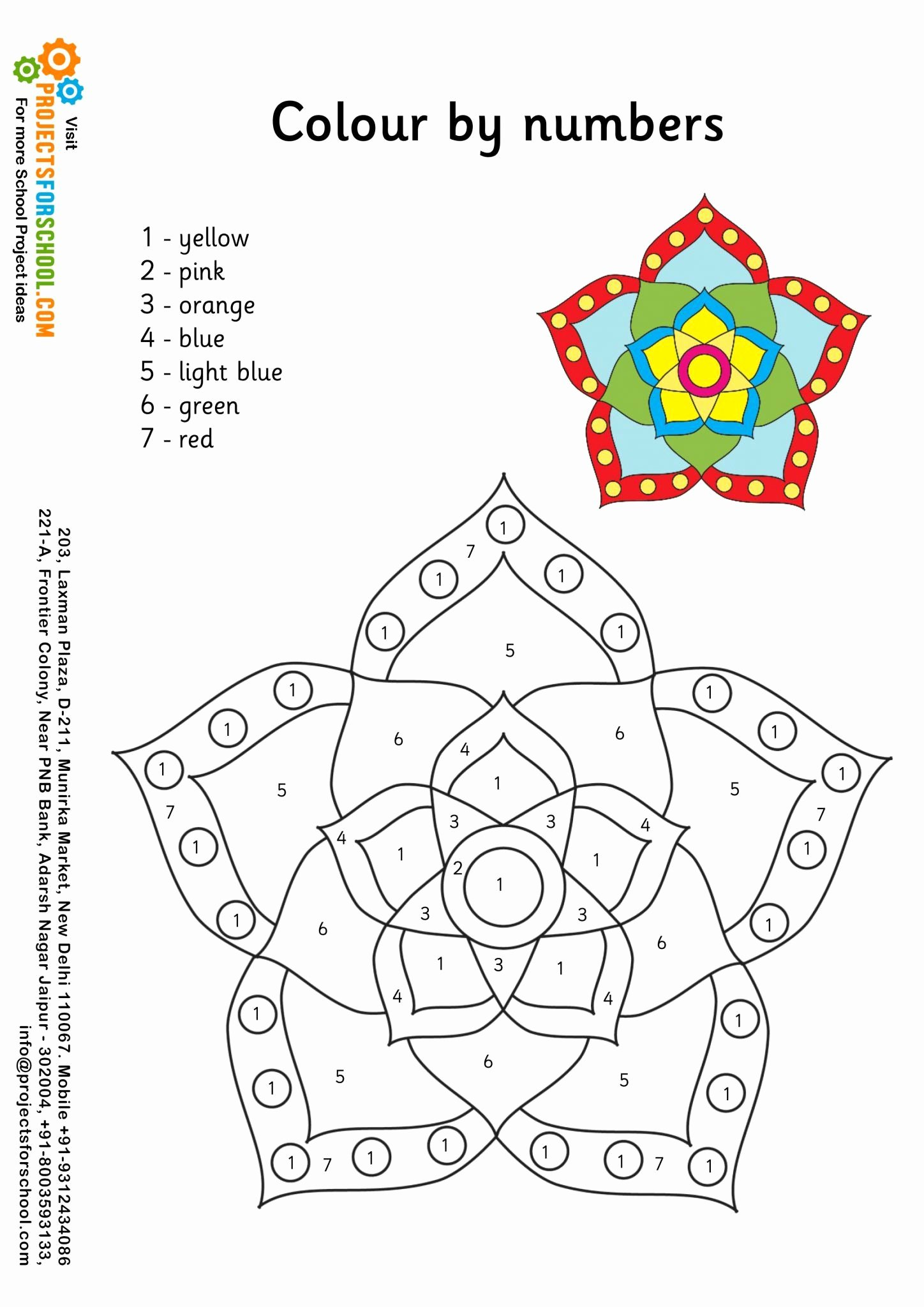 Diwali Worksheets for Preschoolers Inspirational Kids Science Projects Rangoli Worksheet 3 Free