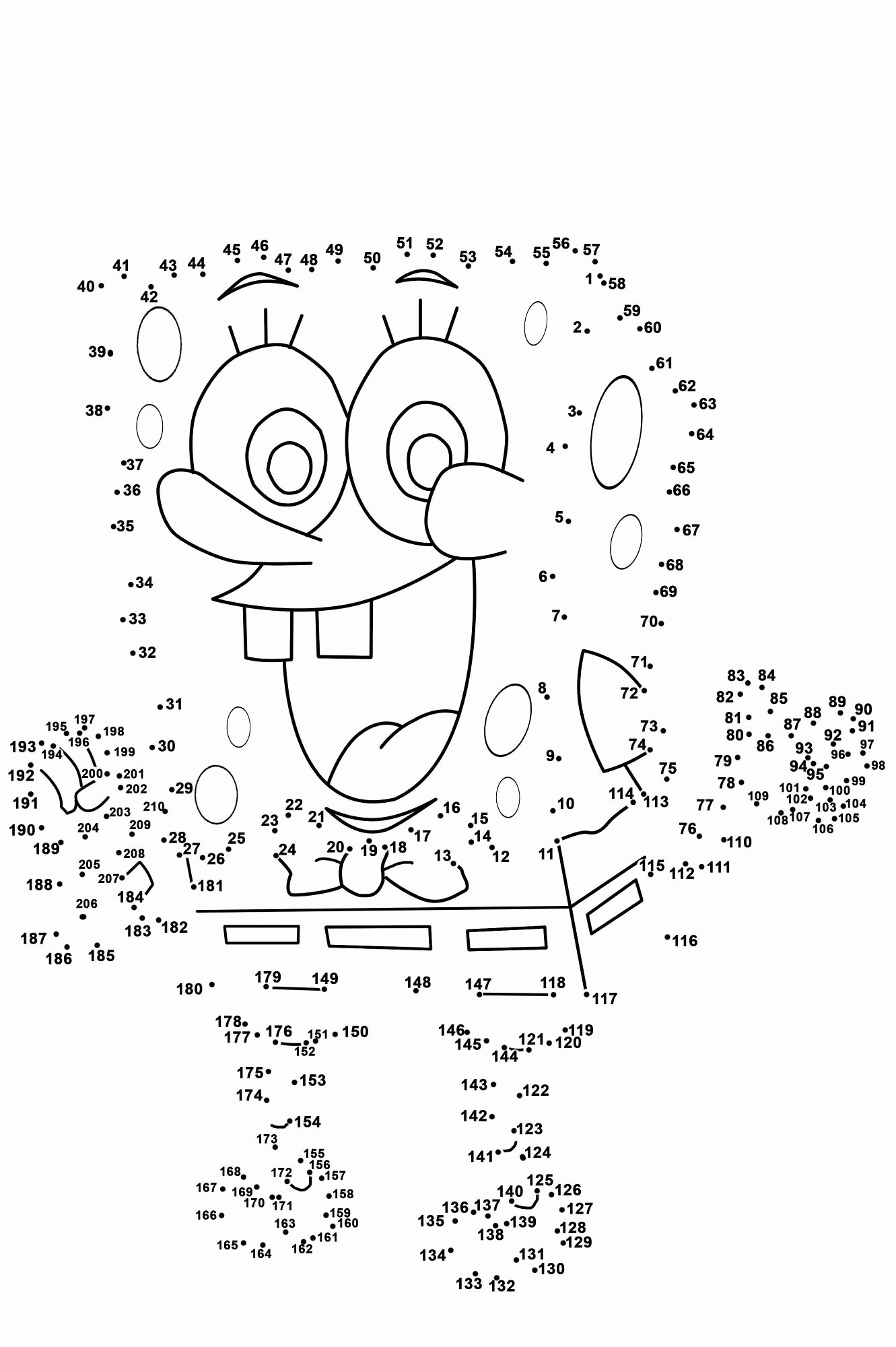 Dot to Dot Worksheets for Preschoolers Lovely Dot to Dot Printables