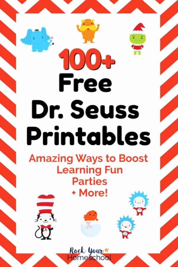 Dr Seuss Worksheets for Preschoolers Best Of 100 Free Dr Seuss Printables & Activities for Fantastic