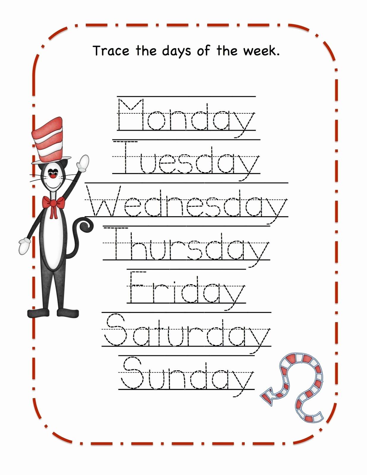 Dr Seuss Worksheets for Preschoolers top Preschool Printables Dr Seuss