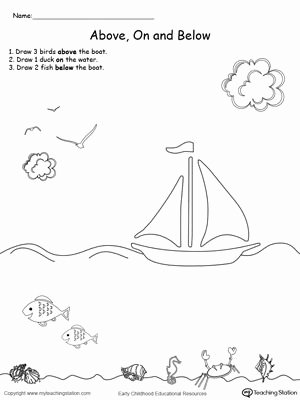 Drawing Worksheets for Preschoolers Unique Drawing Objects and Below