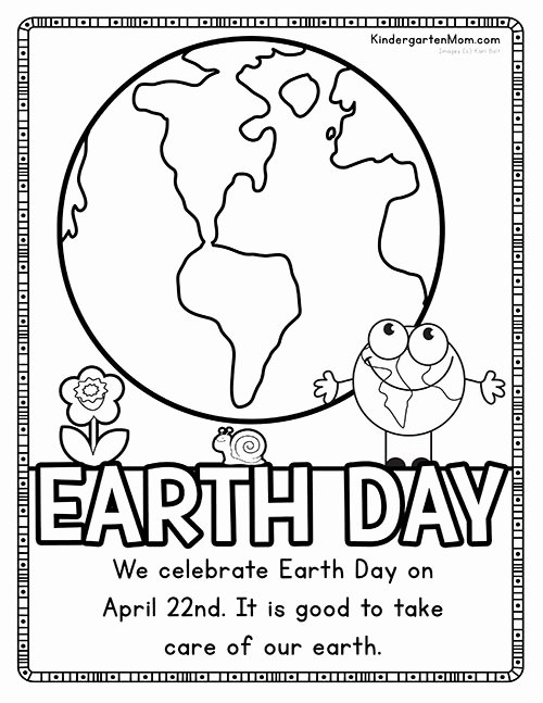 Earth Day Worksheets for Preschoolers Beautiful Earth Printables Kindergarten Mom Preschool Worksheets