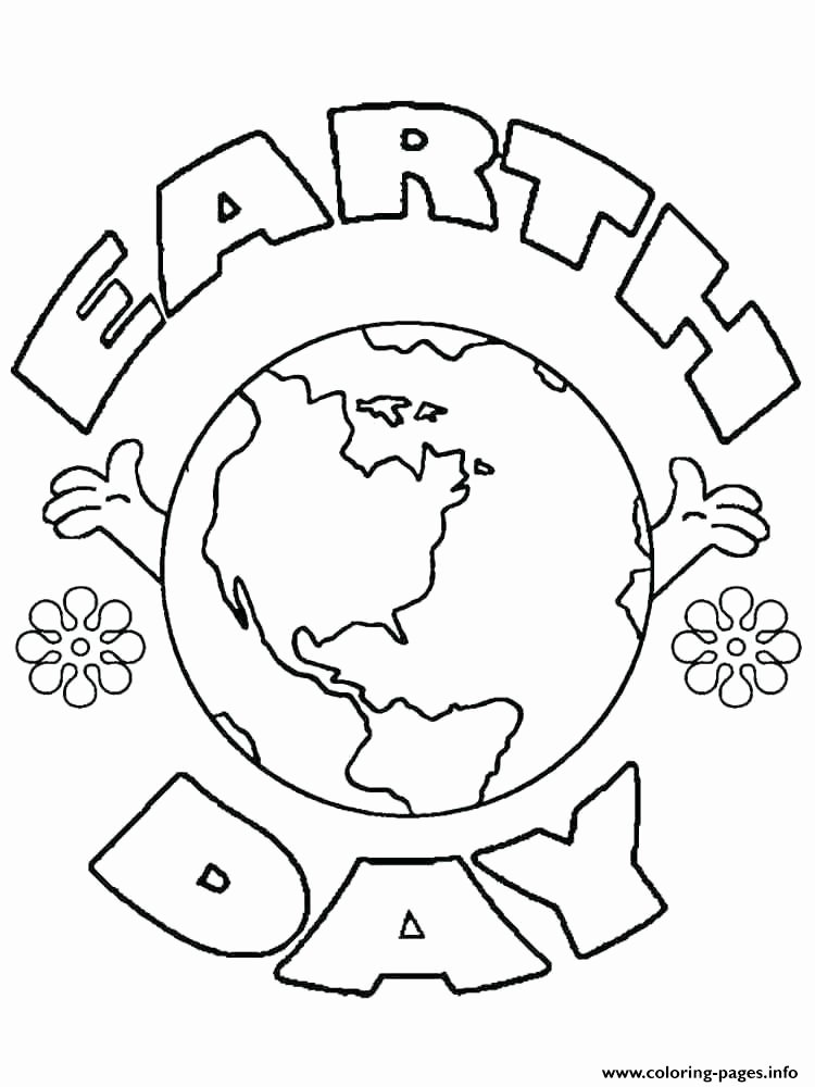 Earth Day Worksheets for Preschoolers Fresh Earth Day Worksheets Coloring Pages Printable