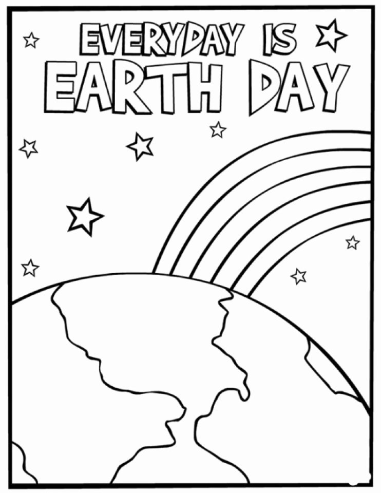Earth Day Worksheets for Preschoolers Fresh Outstanding Earth Day Printable Coloring Pages Ideas
