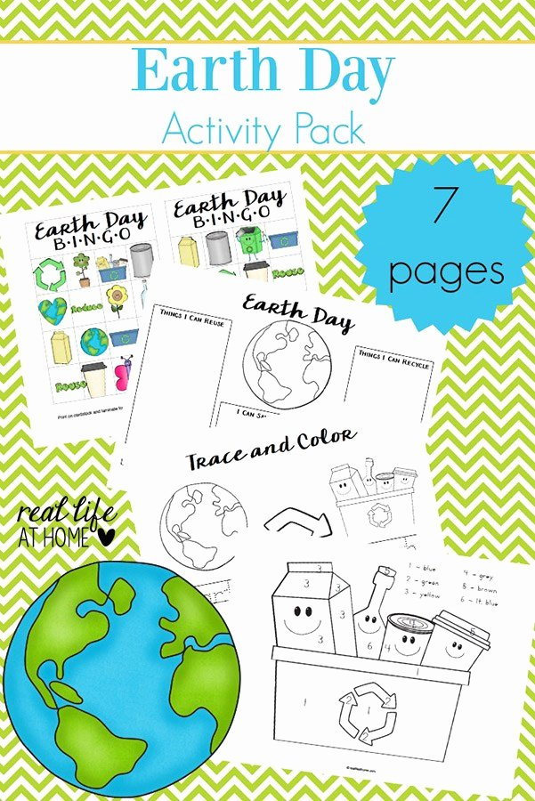 Earth Day Worksheets for Preschoolers New Earth Day Worksheets and Games Free Earth Day Printables Packet