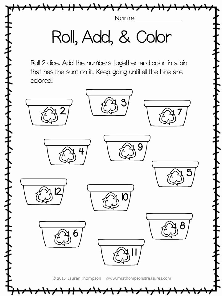 Earth Day Worksheets for Preschoolers Unique Free Earth Day Printable Activities