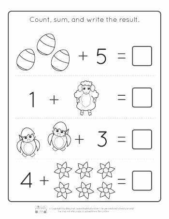 Easter Math Worksheets for Preschoolers Best Of Worksheet Worksheet Kindergarten Sight Words Printable