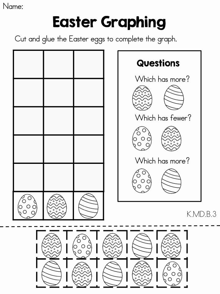 Easter Math Worksheets for Preschoolers Fresh Easter Math Worksheets Kindergarten Distance Learning